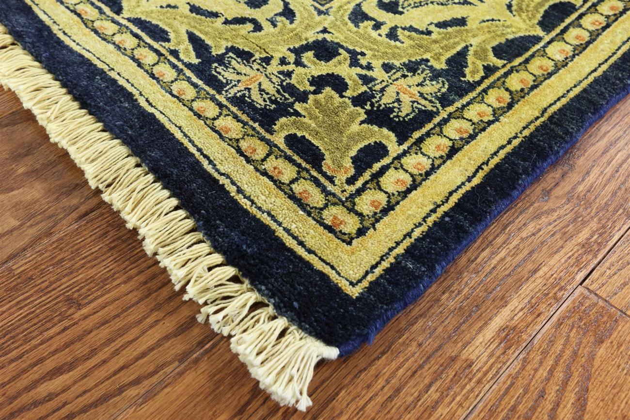 6 X 9 William Morris Handmade Wool Rug