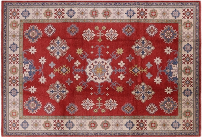 Hand Knotted 100% Wool Kazak Area Rug