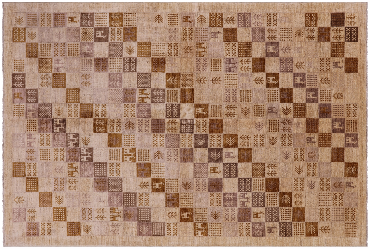 gabbeh hand knotted wool rug