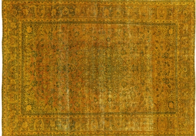 Persian Tabriz Hand Knotted 100% Wool Area Rug