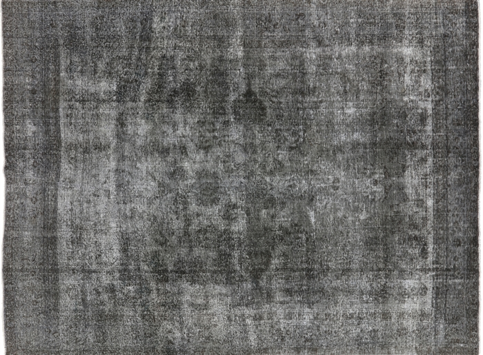 Oriental 100 Wool 9 4 Quot X 12 10 Quot Hand Knotted Ash Gray