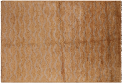 Ivory Gabbeh Hand Knotted Wool Rug