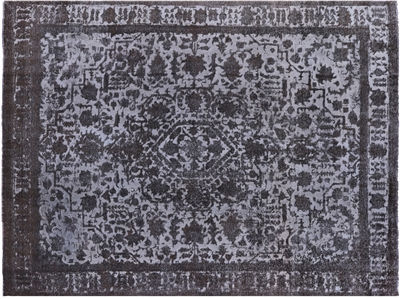 Persian Hand Knotted Overdyed Area Rug