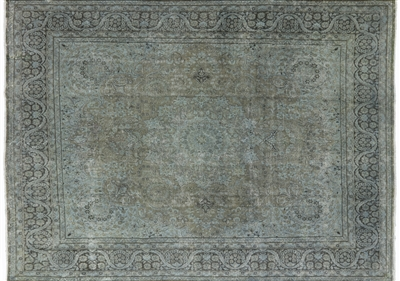 Traditional Persian Overdyed Hand Knotted Wool Rug