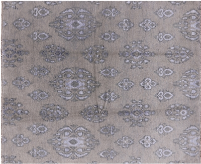 Wool & Silk Double Knotted Area Rug