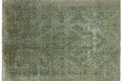 Persian Overdyed Wool Rug