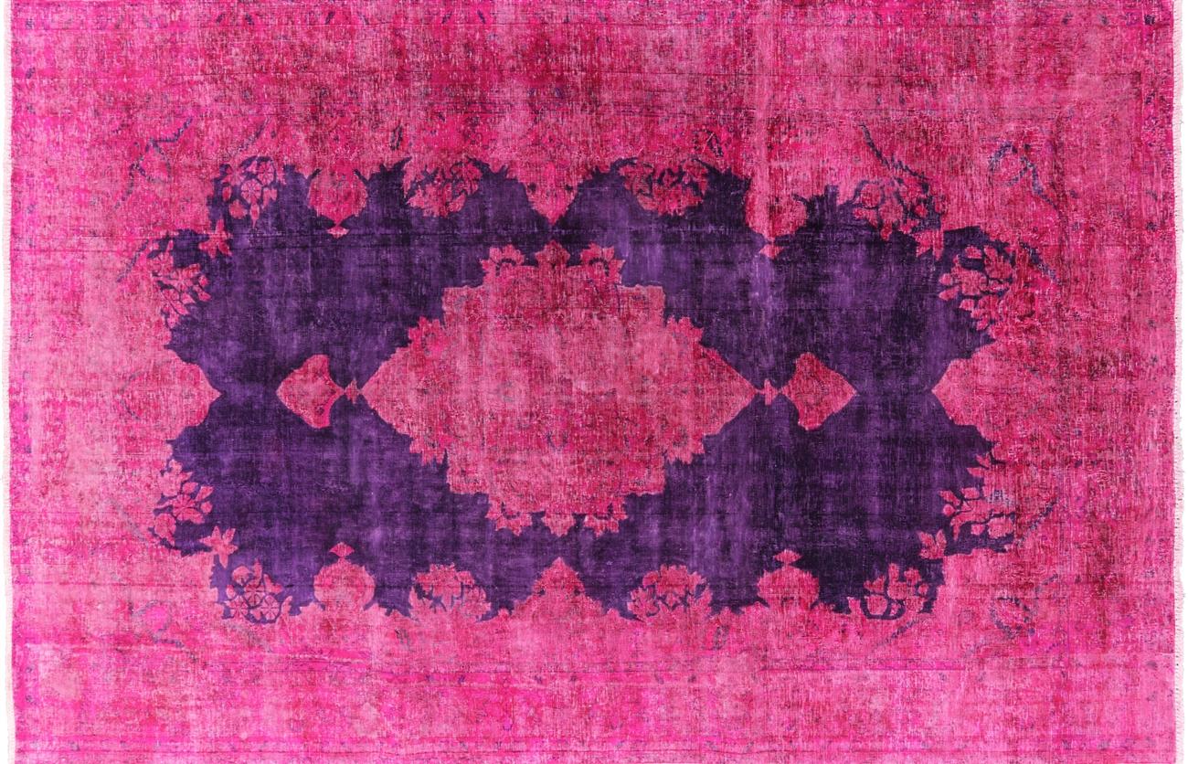 Pink Purple Rug Home Decor