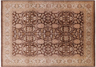 Hand Knotted Peshawar Wool Rug