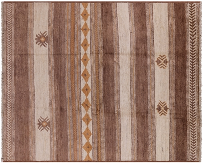 Southwest Navajo Hand Knotted Moroccan Rug