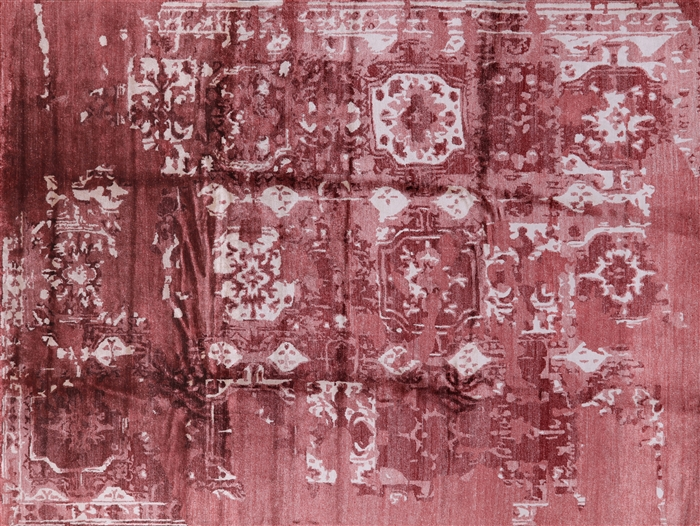 Abstract Silk Rug