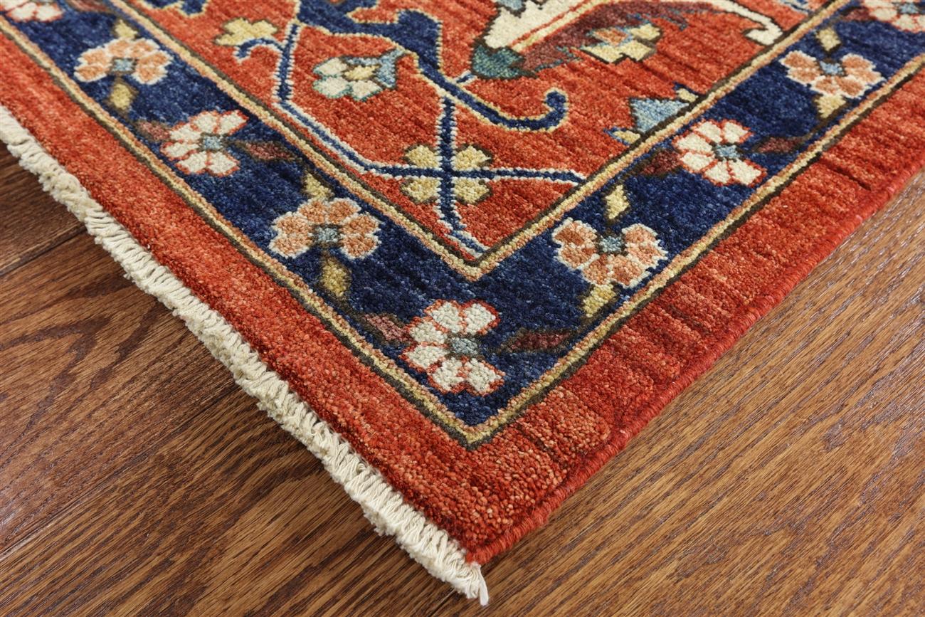 . oriental  x  fine serapi hand knotted rug  mcs