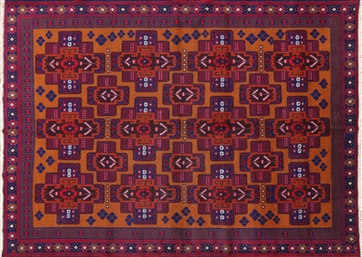 Persian Wool on Wool Hand Knotted Rug