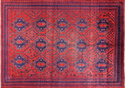 Tribal Persian Wool on Wool Area Rug