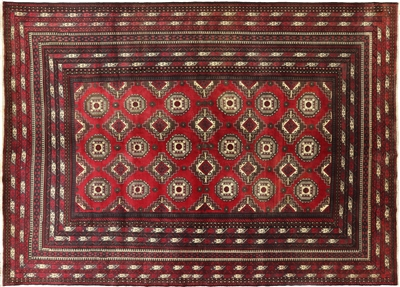 Persian Afghan Wool on Wool Rug