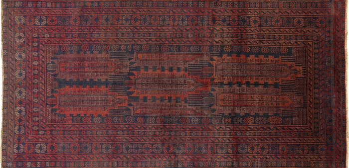 6x12 Wool Amp Wool Tribal Hand Knotted Afghan Area Rug P1390