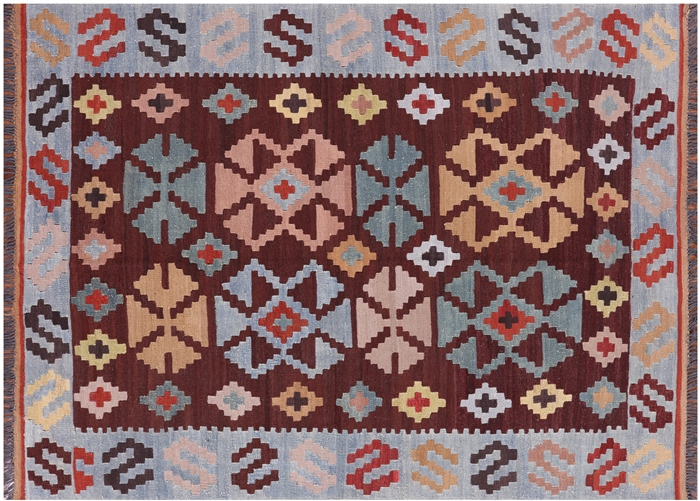 Tribal Kilim Oriental Area Rug