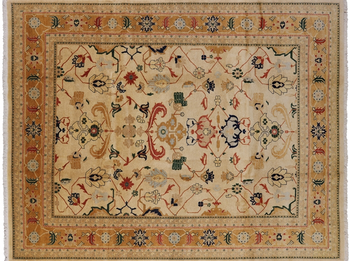 Heriz Hand Knotted Rug