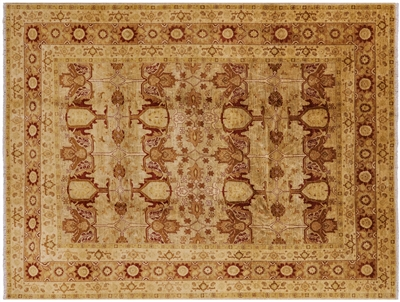 Hand Knotted Oriental Peshawar Rug