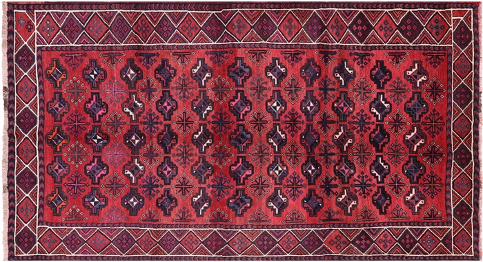 Persian Oriental Wool On Wool Area Rug