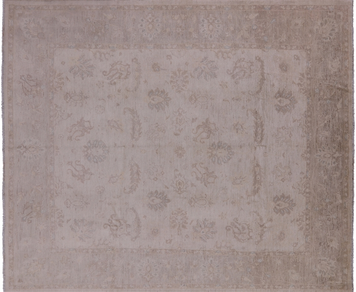 Antiqued Oriental Peshawar Area Rug
