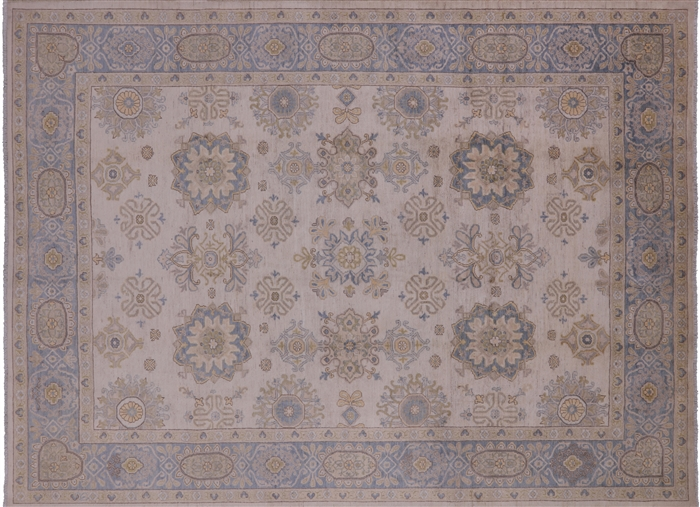 Oriental Peshawar Hand Knotted Area Rug