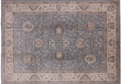 Oriental Hand Knotted Peshawar Rug