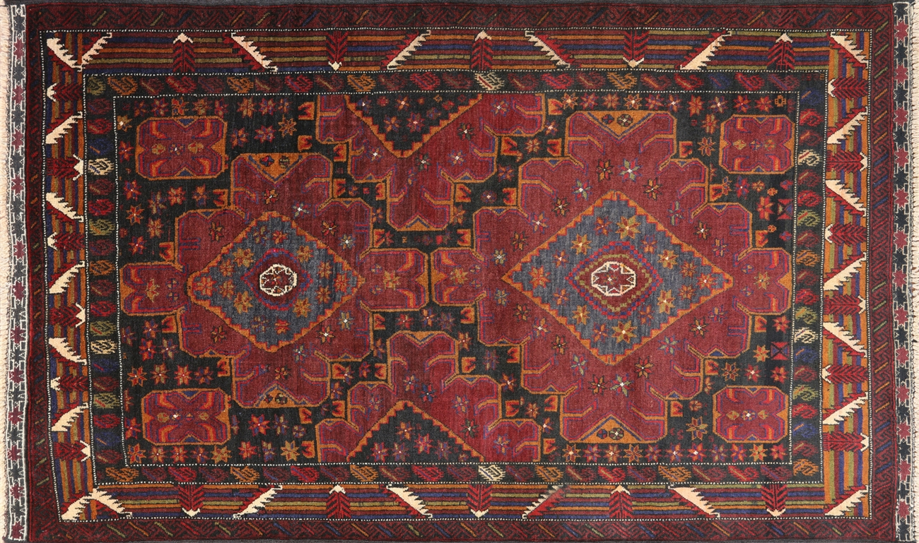 4 X 6 Persian Traditional Wool Area Rug