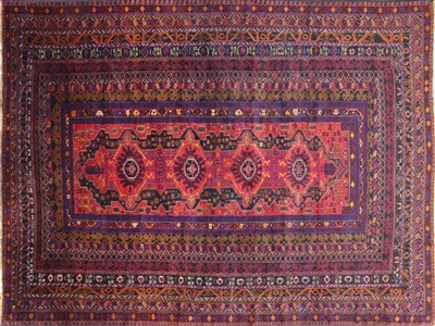 Wool on Wool Oriental Handmade Persian Rug