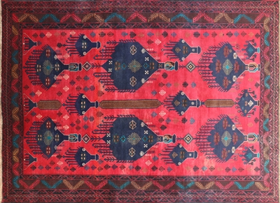 Oriental Baluch Wool on Wool Persian Rug