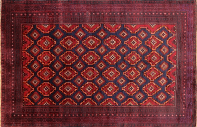 Oriental Wool on Wool Persian Rug