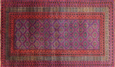 Persian Handmade Oriental Wool on Wool Rug