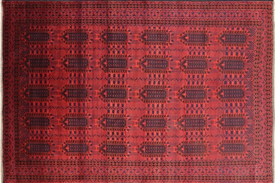 Oriental Baluch Wool on Wool Handmade Persian Rug