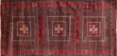 Oriental Hand Knotted Wool on Wool Persian Rug