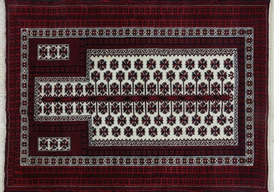 Hand Knotted Persian Balouch Area Rug