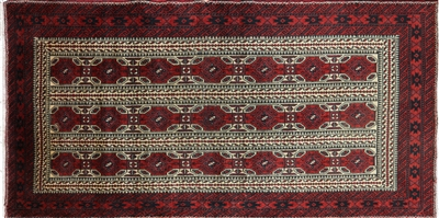 Oriental Persian Hand Knotted Area Rug