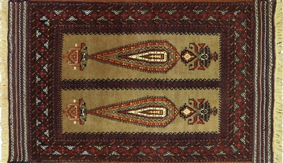 Tribal & Pictorial Oriental Persian Rug