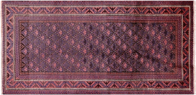 Wool on Wool Persian Hand Knotted Rug