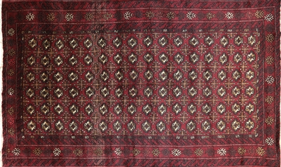 Bokhara Oriental Persian Wool on Wool Area Rug