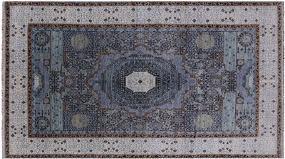 Mamluk Floral Hand Knotted Area Rug
