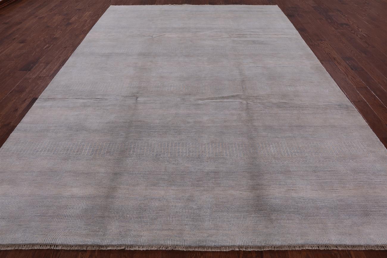 Wool Silk Handmade Oriental 9 X 12 Savannah Gabbeh Area Rug P3165 1019