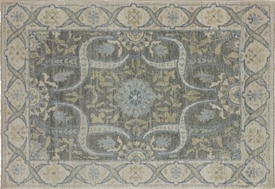 Hand Knotted Persian Oriental Wool Area Rug