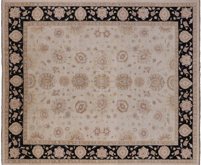 Hand Knotted Oriental Persian Wool Area Rug