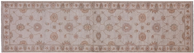 Hand Knotted Persian Oriental Wool Runner