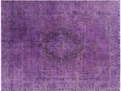 Tabriz Overdyed Hand Knotted Wool Area Rug