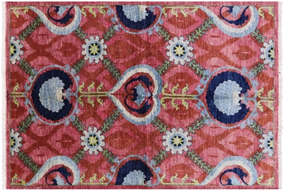 William Morris Hand Knotted Wool Area Rug