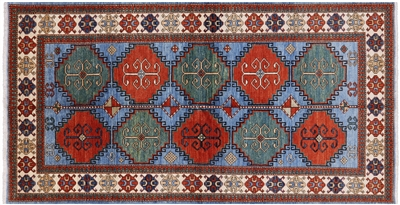 Hand Knotted Fine Serapi Wool Rug