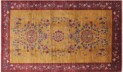 Suzani Oriental Hand Knotted Area Rug