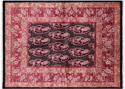 Persian Suzani Hand Knotted Area Rug