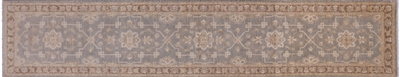 Peshawar Hand Knotted Wool Runner