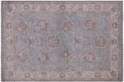 Hand Knotted Blue Persian Area Rug